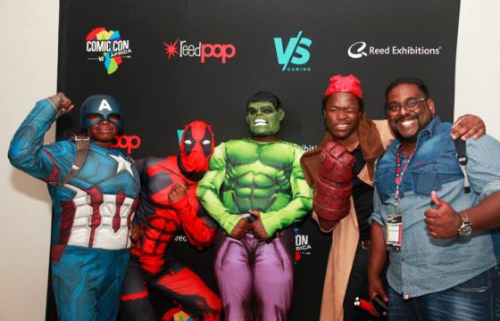 Le tout premier Comic Con Africa débarque en Afrique du Sud