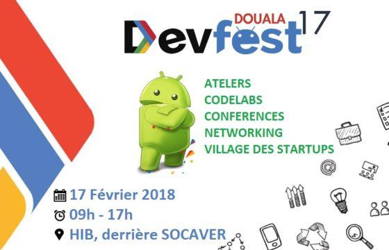 DevFest, le plus grand rassemblement de développeurs au Cameroun