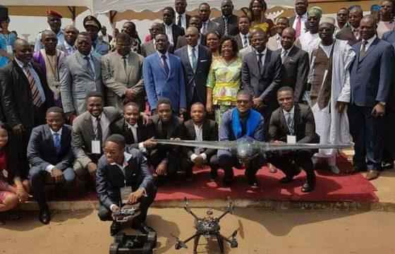Drone Africa présente les premiers drones made in Cameroon au Gouvernement