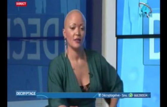 Nadine Patricia Mengue, ancienne animatrice star de la CRTV fait son retour au Cameroun sur Vision 4