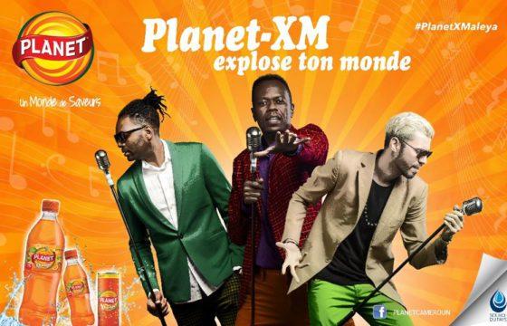 """Le groupe X-Maleya ambassadeur de la marque """"Planet"""" de Source du Pays"""